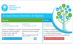 Punct de vedere referitor la Dosarul electronic al pacientului (DES)